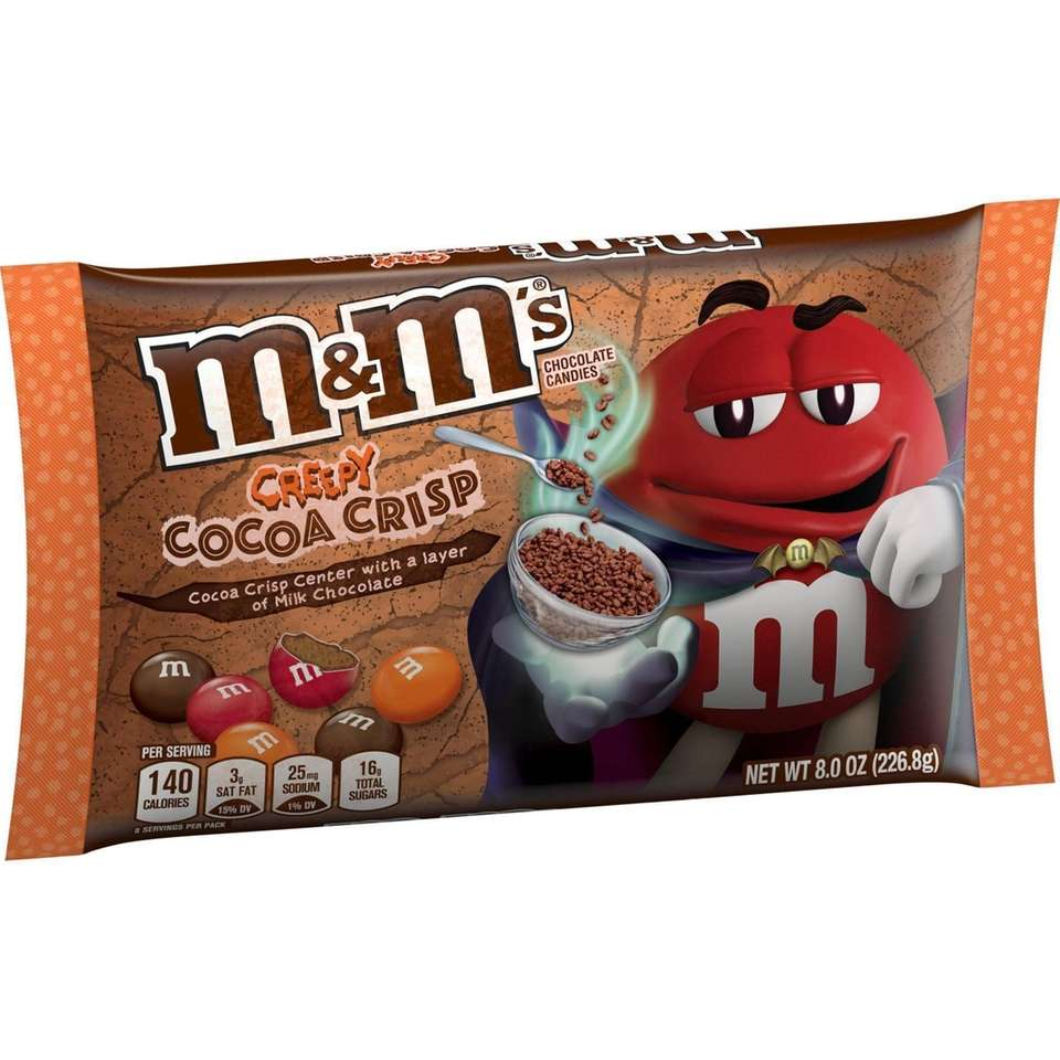 Available exclusively at Target, these seasonal M&M's feature