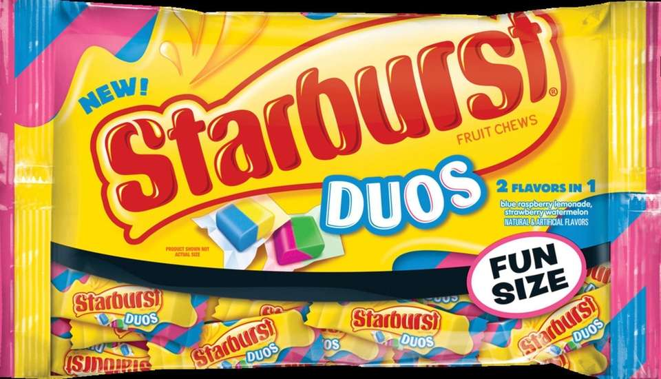 A flavor mashup, these chewy candies come in