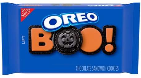 Traditional Oreo cookies get a seasonal twist with