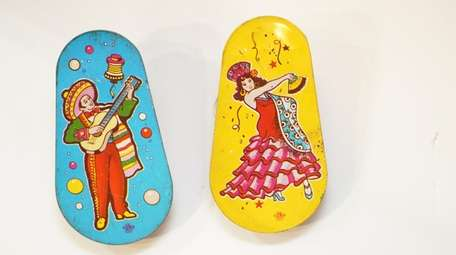 1930s era New Year's Eve noise makers from