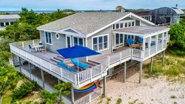 Barbara Corcoran is selling this Fire Island home