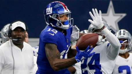 Giants wide receiver Cody Latimer didn't practice Thursday