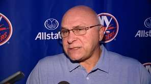 The Islanders opened training camp on Thursday at