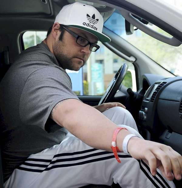 New York Yankees pitcher Joba Chamberlain leaves St.