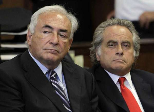 Former International Monetary Fund leader Dominique Strauss-Kahn in