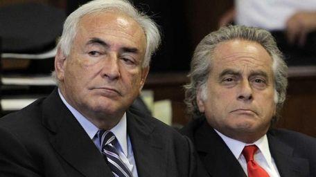 Former International Monetary Fund leader Dominique Strauss-Kahn in