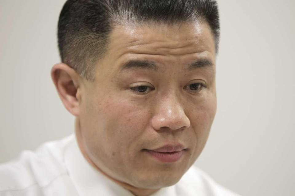 New York City Comptroller John Liu, who is