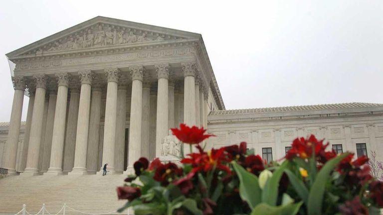 A file photo of The United States Supreme
