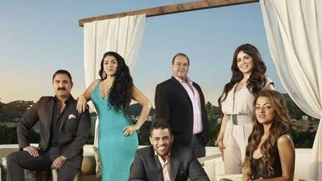 From the left are Reza Farahan, Asa Soltan