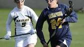 Massapequa attacker Rosemary Pimental drives ahead of West