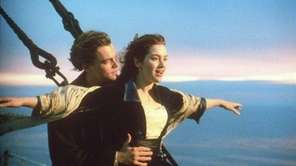 Leonardo DiCaprio plays Jack Dawson and Kate Winslet