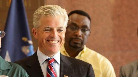 Suffolk County Executive Steve Bellone, a Democrat, has