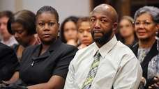 Tracy Martin, left, and Sybrina Fulton, parents of