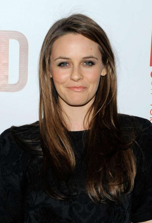 Actress Alicia Silverstone. (April 1, 2010)