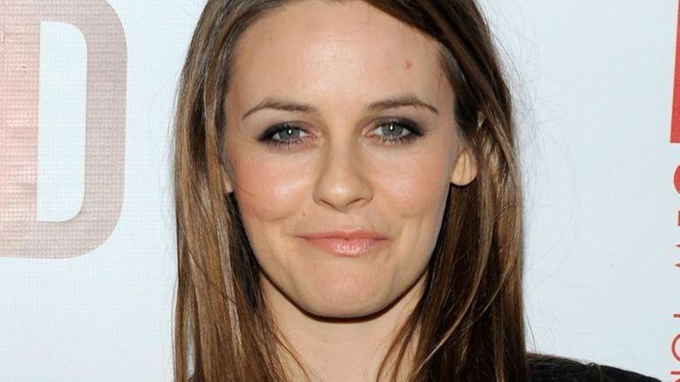 Actress Alicia Silverstone. (April 1, 2010)