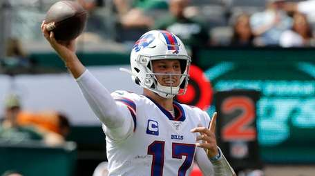Josh Allen brought the Bills back from a