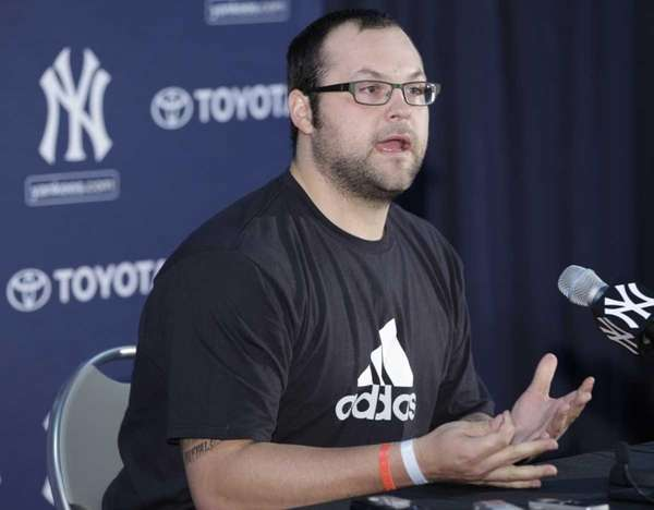 New York Yankees relief pitcher Joba Chamberlain, who