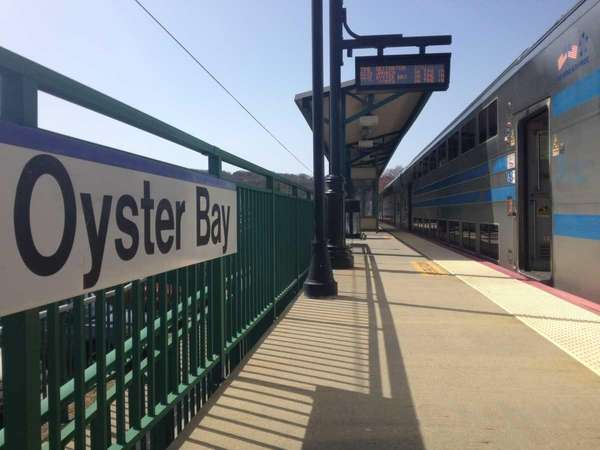 The Long Island Rail Road station in Oyster