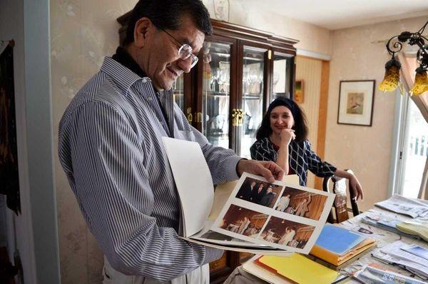 David Ochoa and his wife Myrka Gonzales look