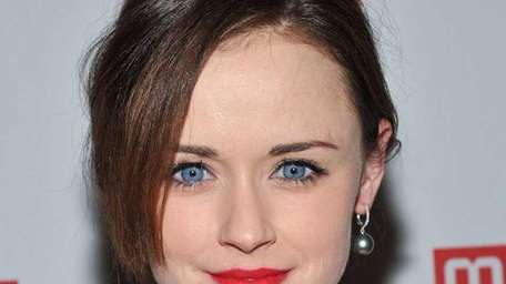 Actress Alexis Bledel attends a party for the