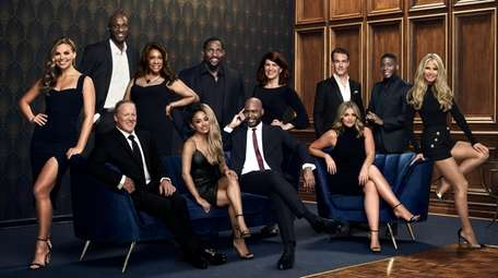 """The """"Dancing With the Stars"""" cast from left,"""