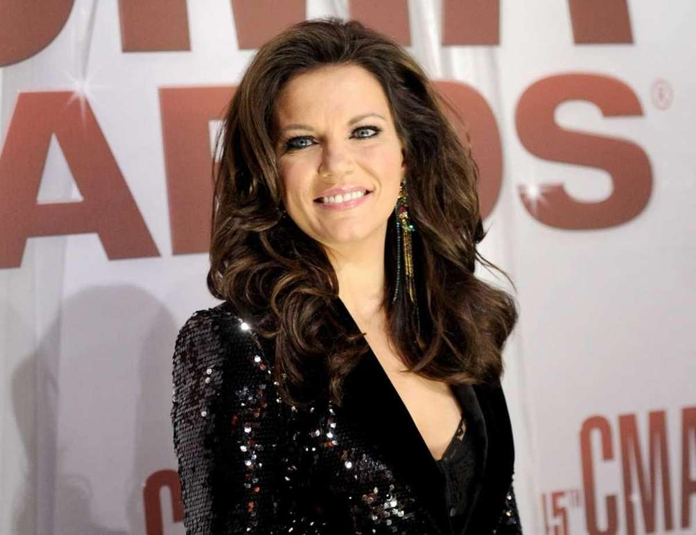 Country star Martina McBride arrives at the 45th