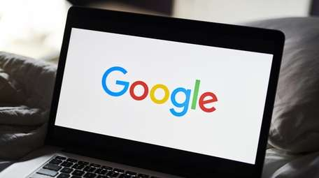 The Google Inc. logo is displayed on an