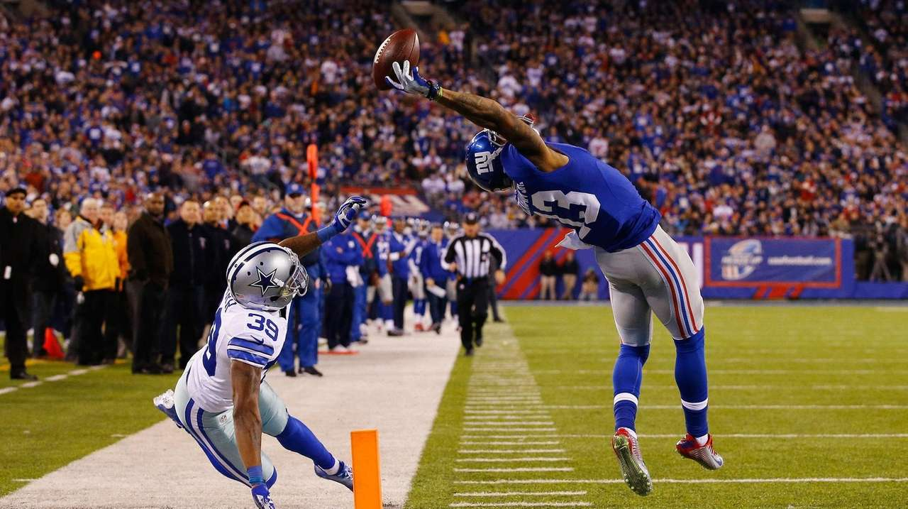 Odell Beckham S One Handed Technique Is Catching On Around Football Newsday