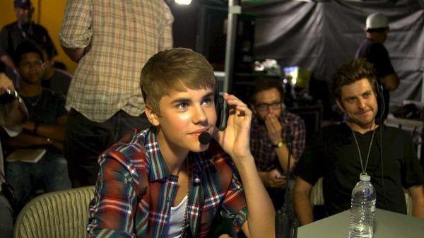 Justin Bieber in MTV's