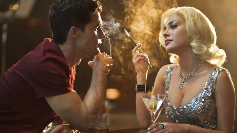 Steven Strait as Stevie Evans and Elena Satine