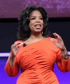 OWN executive Oprah Winfrey. (April 14, 2011)
