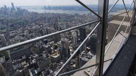 A view of New York City from the