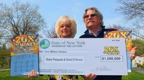 David D'Amore, 66, and his girlfriend Diane Pasquale,