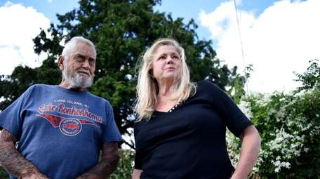 Community historian Ellyn Okvist says the tree on