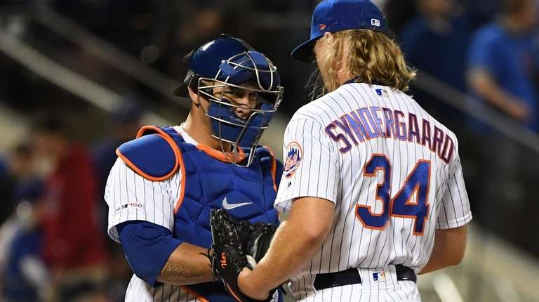 At this stage of the season, Mets manager Mickey Callaway should let Noah Syndergaard have a personal catcher