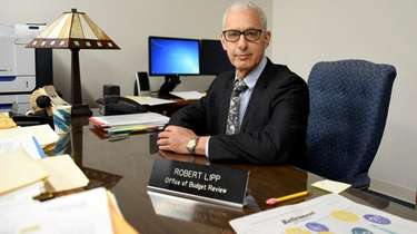 Robert Lipp, director of budget review at the