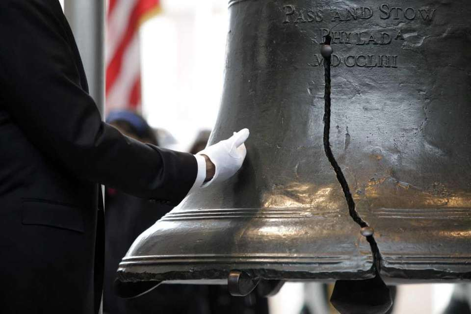 The Liberty Bell is housed in the Liberty
