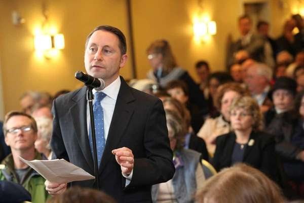 Westchester County Executive Rob Astorino speaks during a