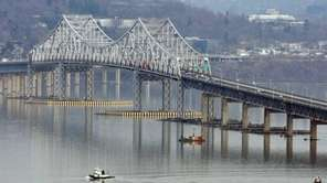 The Tappan Zee Bridge seen from Nyack. (Feb.