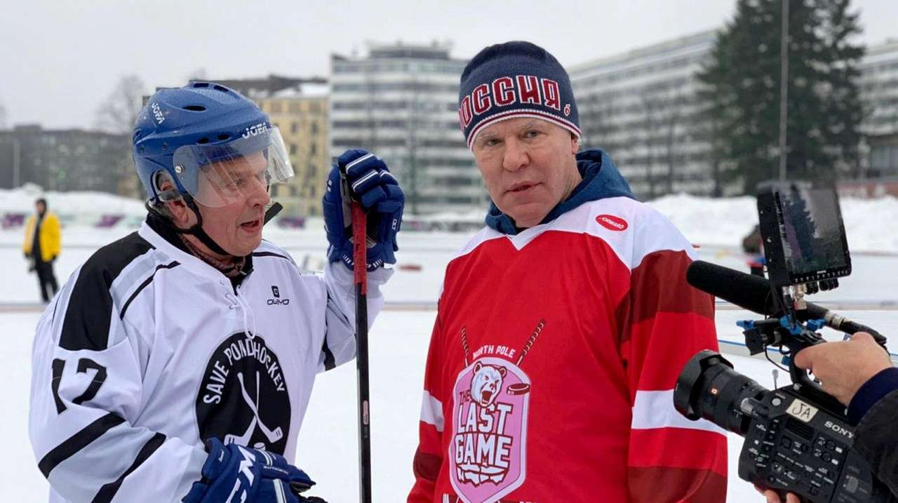 Fetisov takes on global warming with help from Lamoriello