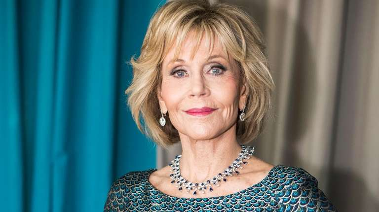 Jane Fonda was inducted into the National Women's