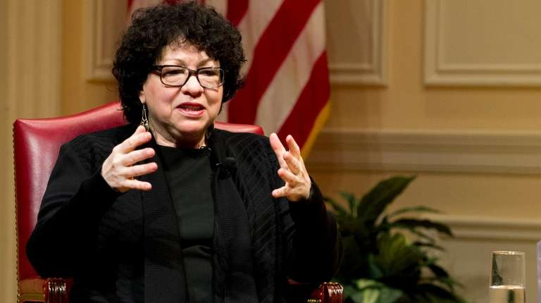 Supreme Court Justice Sonia Sotomayor is among 10