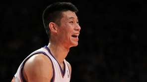 Jeremy Lin in action against the Utah Jazz.