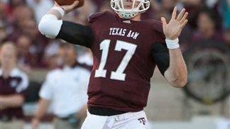 RYAN TANNEHILL Quarterback, Texas A&M Tannehill is a