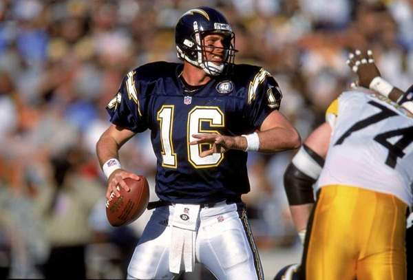 Quarterback Ryan Leaf of the San Diego Chargers