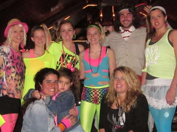 Hundreds attend the 80s Dance Party for Doobee
