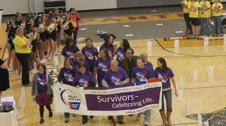 A group of cancer survivors opens Adelphi University's