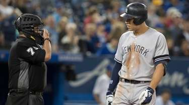 Yankees outfielder Aaron Judge takes issue with home