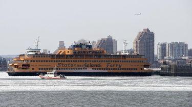 Manhattan Dock for the Staten Island Ferry on