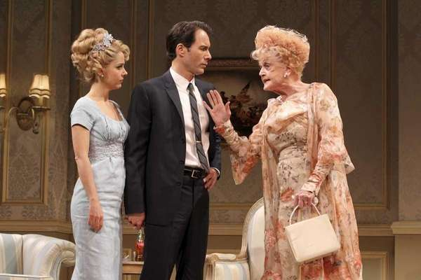 Kerry Butler, Eric McCormack and Angela Lansbury in